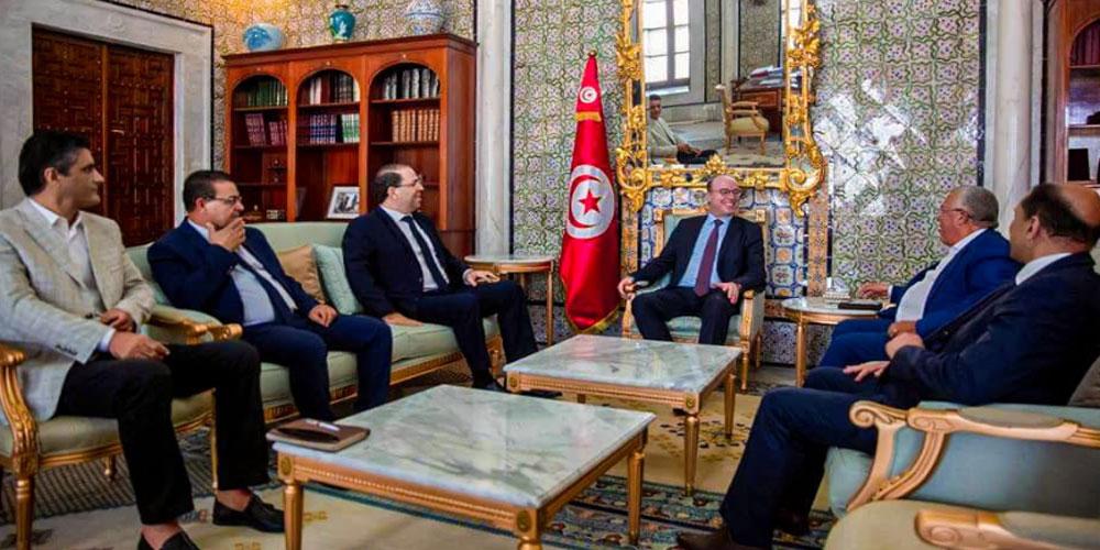 رئيس الحكومة يلتقي رؤساء أحزاب وكتل الائتلاف الحكومي
