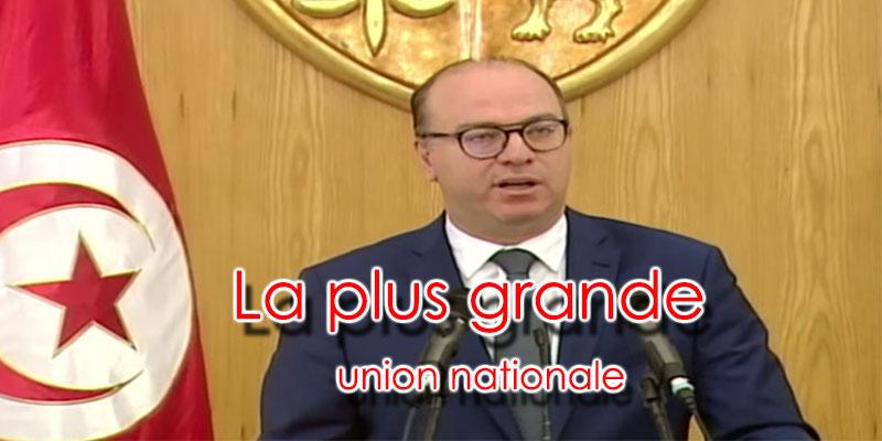 Fakhfakh : On n'a jamais eu une aussi grande union nationale