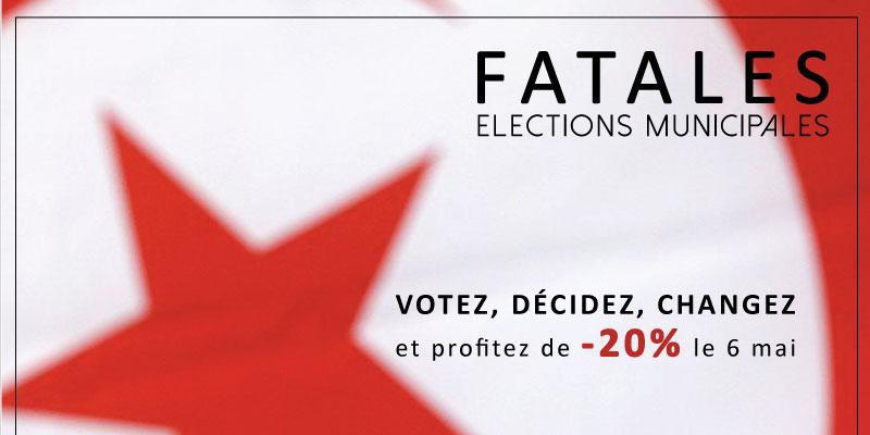 Fatales offre 20% de reduction pour tout votant