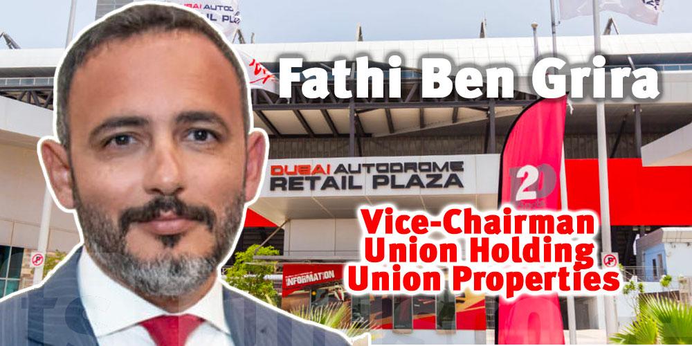 Le Tunisien Fathi Ben Grira à la tête d'un important conglomérat aux Émirats