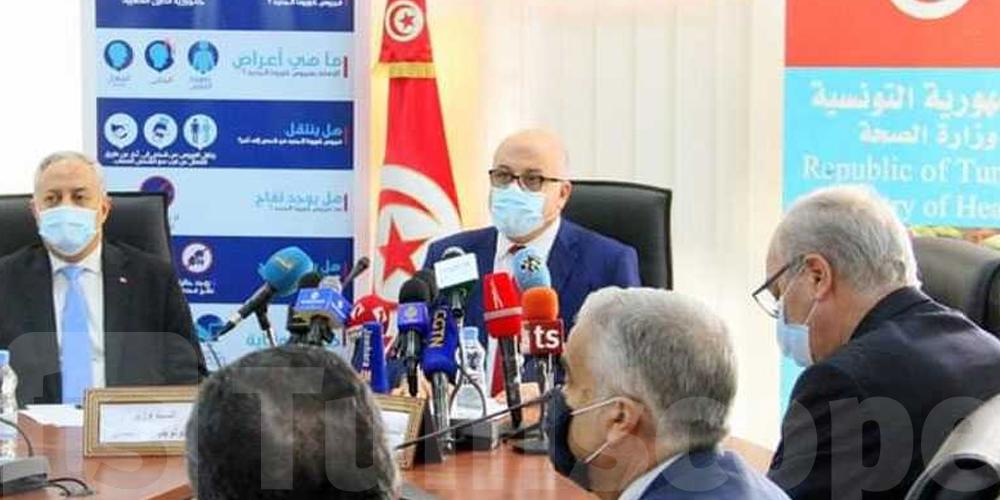 Tunisie-Coronavirus : Le ministre de la Santé revient sur la situation sanitaire