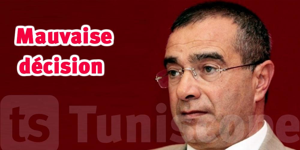 Fayçal Derbal critique l'élimination du ministère de l'emploi