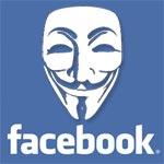Facebook victime d'une attaque d'anonymous
