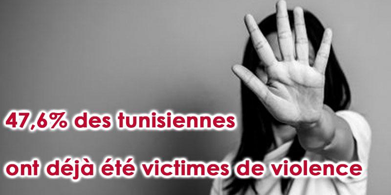47,6% des tunisiennes victimes de violence au moins une fois dans leur vie