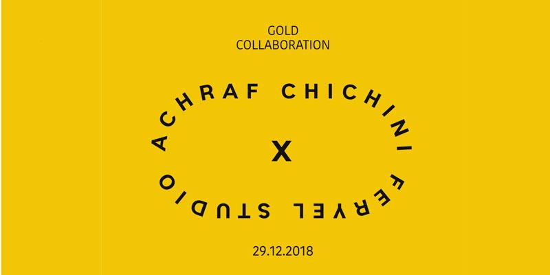 Une installation artistique éphémère d'Ashraf Chichini prend place à Feryel Studio