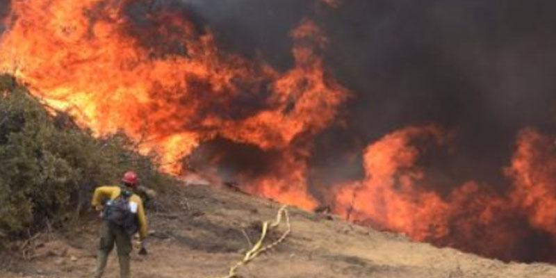 فرنسا: تحطم طائرة إطفاء ومصرع قائدها خلال إخماد حريق