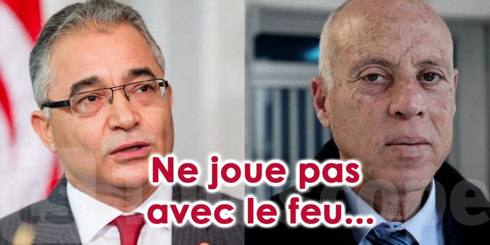 Le message alarmant de Mohsen Marzouk à Kaïs Saïed