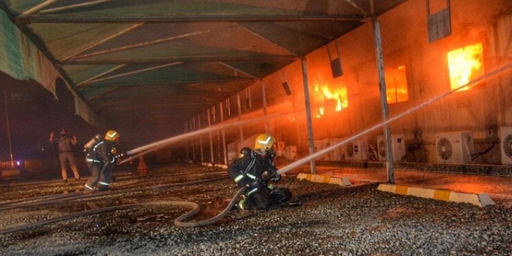 السعودية: السيطرة على حريق بمحطة قطار الحرمين