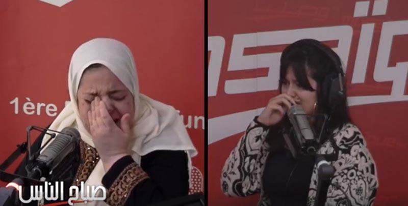 بالفيديو: بكاء وتأثر في برنامج صباح الناس بموزاييك بسبب هذه المرأة