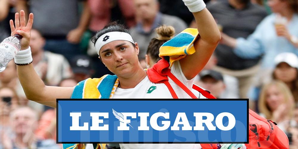Même le Figaro lance des fleurs à Ons Jabeur