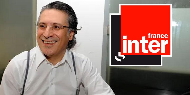 Un magnat des médias à la présidentielle titre France Inter à propos de Karoui