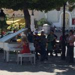 Flashmob à l'Avenue Bourguiba ou la musique contre le terrorisme
