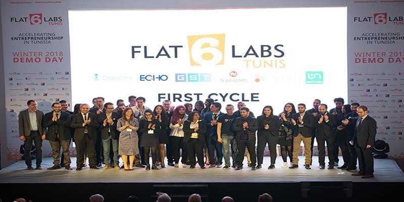 Flat6Labs organise la deuxième édition de son Demo Day :  sept nouvelles startups à l'honneur Tunis le 04 Juillet 2018