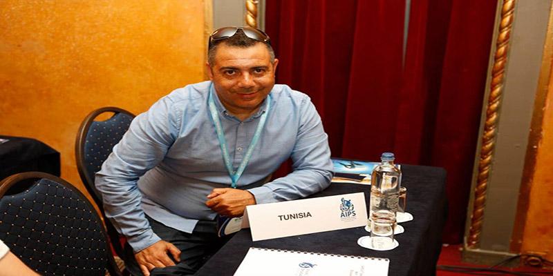 Le photographe reporter sportif  tunisien Mohamed Fliss élu membre du comité exécutif de l'AIPS Afrique