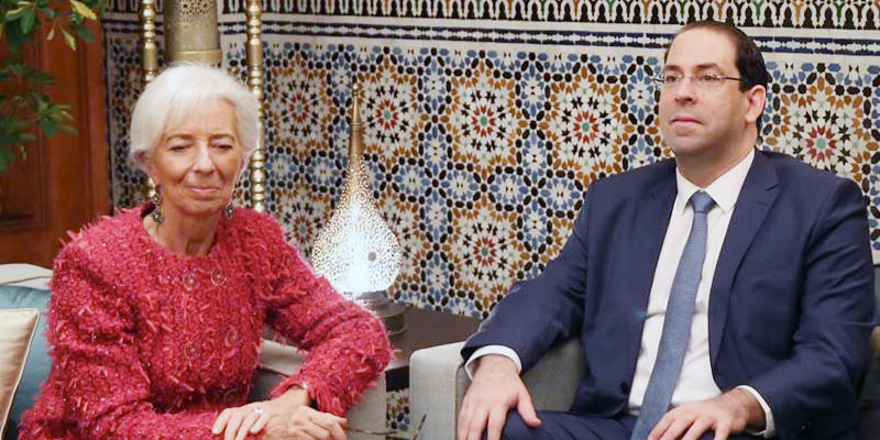 Christine Lagarde : Nous comprenons la frustration des tunisiens…