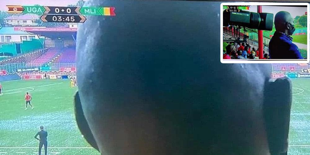 Photo du jour : Quand un supporter empêche des milliers de téléspectateurs de voir le match