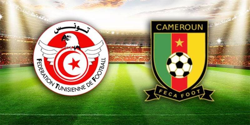بطلب من المصالح الأمنية، تغيير توقيت مباراة تونس و الكامرون