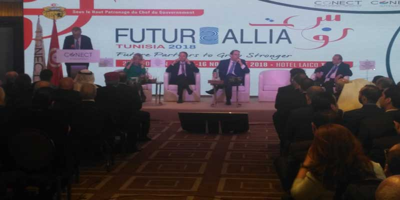 Ouverture de la 22ème édition du Forum FUTURALLIA TUNISIA 2018