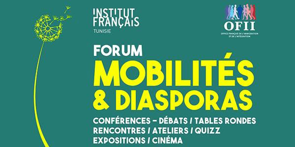 Forum Mobilités et diasporas du 30 mars au 1e avril 2017