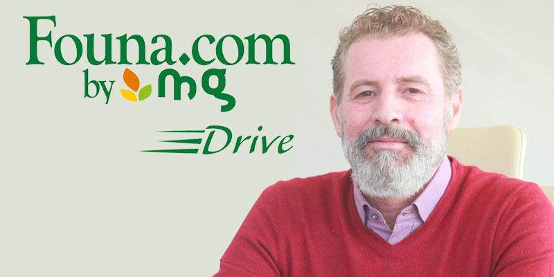 En vidéo : Karim Skik présente le premier service de drive par Founa.com, lancé le 18 novembre dernier