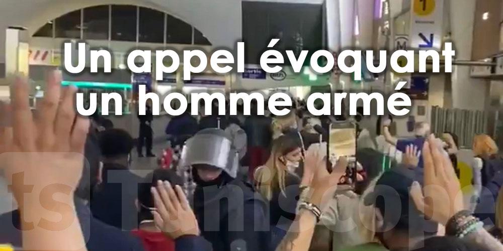 En vidéo: Agitation dans un centre commercial de Paris