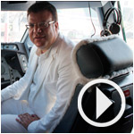 Interview de Mohamed Frikha à bord du A330 de Syphax Airlines