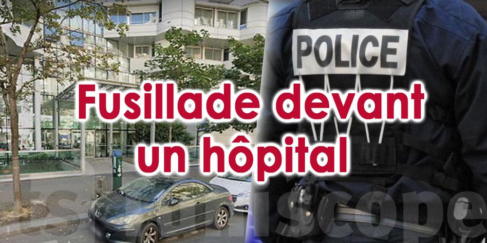 Fusillade à Paris, Un mort et un blessé
