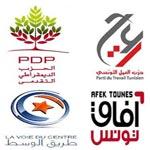 Confirmation de la fusion entre Afek, PDP, PTT, parti républicain et la voie du centre