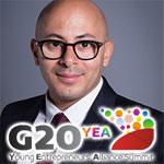Le Tunisien Arsalain El Kessir, invité au G20 des Jeunes Entrepreneurs