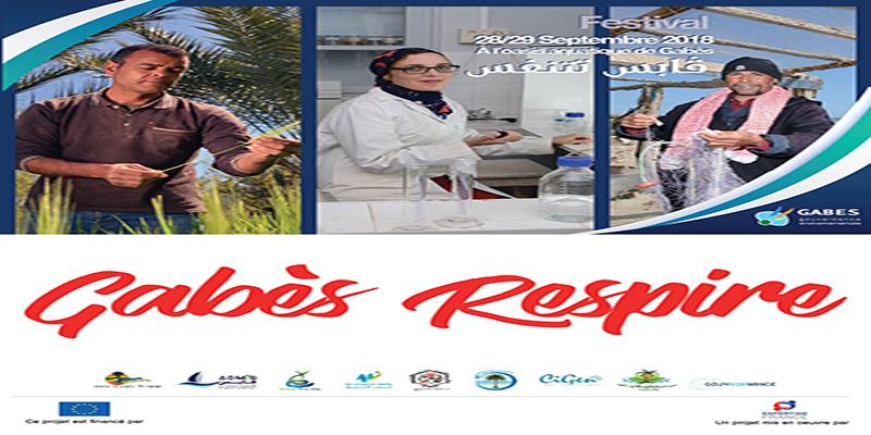 Festival Gabès Respire les 28 et 20 septembre