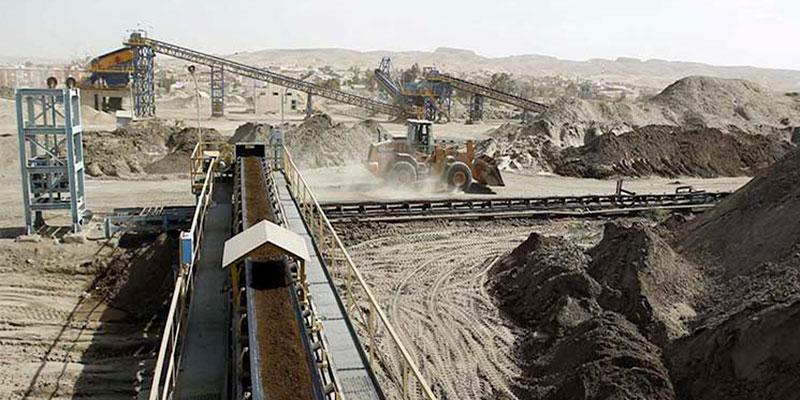 Malgré l'amélioration, la production de phosphate n'a pas encore atteint le niveau escompté