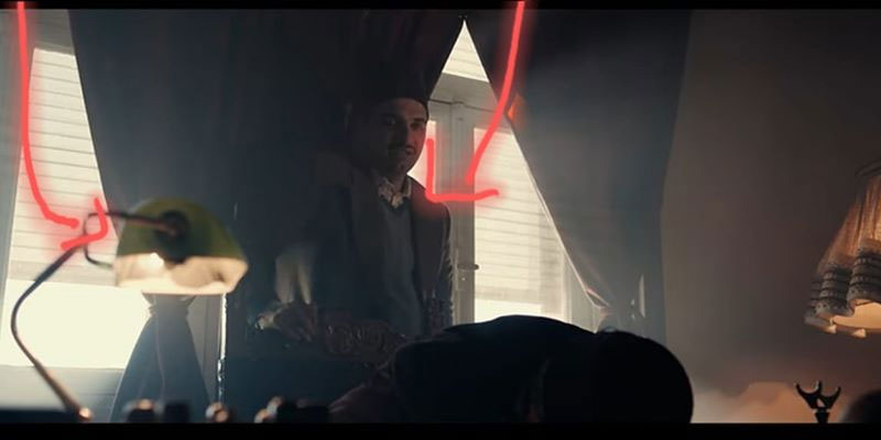 خطأ إخراجي في مسلسل ''قلب الذيب'' يثير السخرية