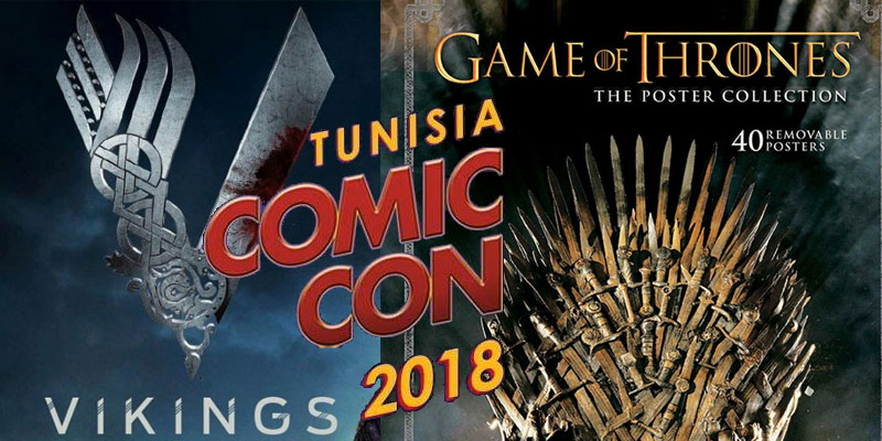 Game of Thrones et Vikings au Comic Con 2018