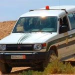 Kairouan : Renversement d'un véhicule de la garde nationale dans une course poursuite