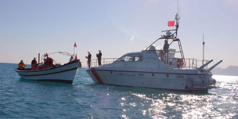 قلعة الأندلس: إحباط عملية إجتياز للحدود البحرية خلسة