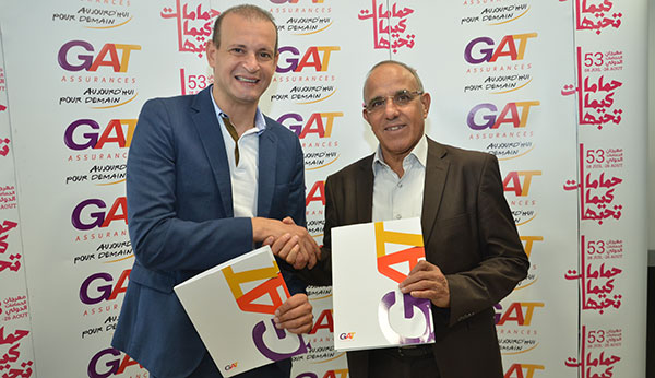 GAT ASSURANCES partenaire officiel de la 53eme édition du Festival International de Hammamet