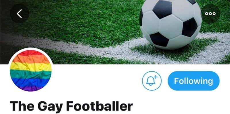 حذف حساب على تويتر للاعب كرة قدم كان يستعد للإعلان عن كونه مثليًّا