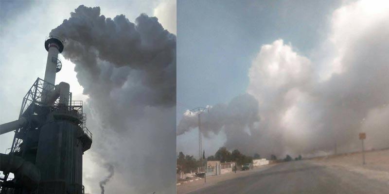 إثر تسرّب الغازات: إيقاف وحدة الحامض الكبريتي بمعمل المظيلة