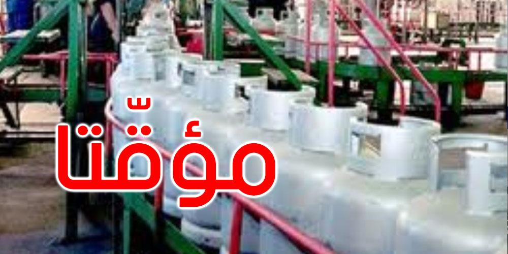 السماح بفتح أبواب معمل الغاز بڨابس