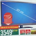 Géant : Pour un pack LG acheté un téléviseur LCD gratuit