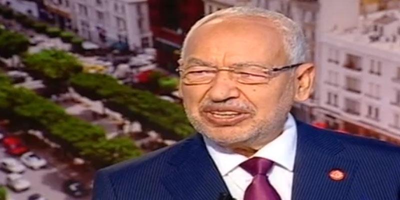 الغنوشي: النهضة لن تشارك في حكومة يكون قلب تونس طرفا فيها