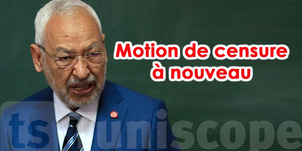 Bientôt une nouvelle motion de censure contre Rached Ghannouchi