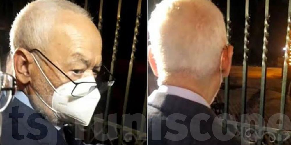 Tunisie-dernière minute : Rached Ghannouchi hospitalisé