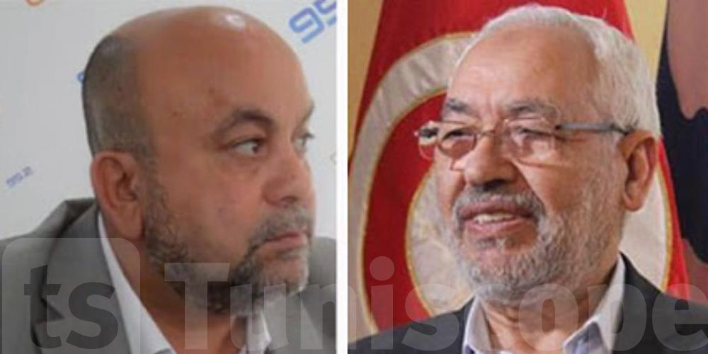 عماد بن حليمة : إصابة الغنوشي بقصور حاد في التنفس