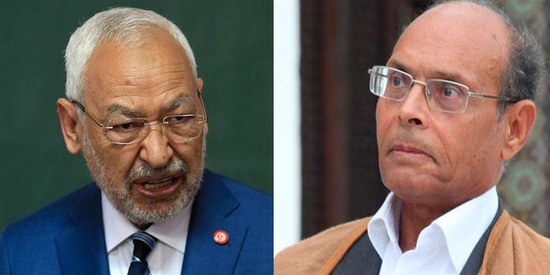 Ghannouchi fait des reproches à Moncef Marzouki