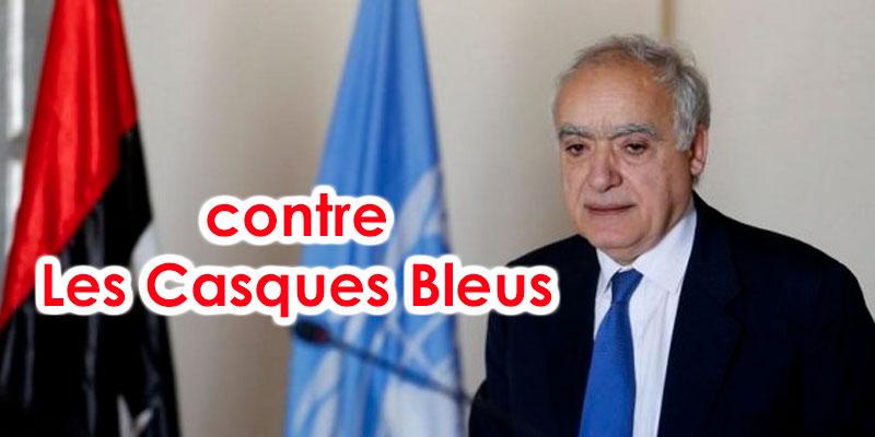 L'envoyé spécial de l'ONU contre l'envoi des casques bleus en Libye