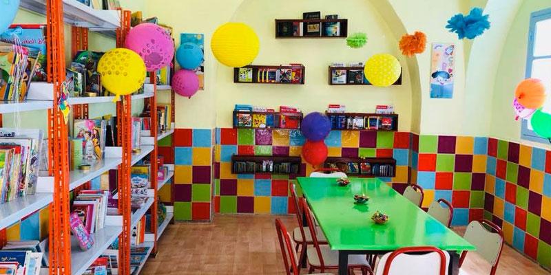 L'Association Un Enfant Des Sourires crée une bibliothèque pour les écoliers d'El Ghorra