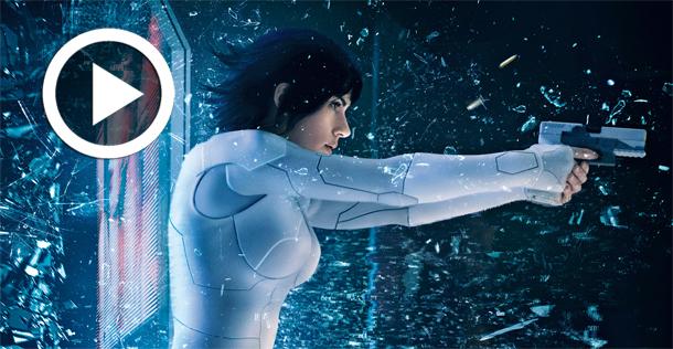 En vidéo….Ghost in the Shell avec Scarlett Johansson : Découvrez les 5 premières minutes du film