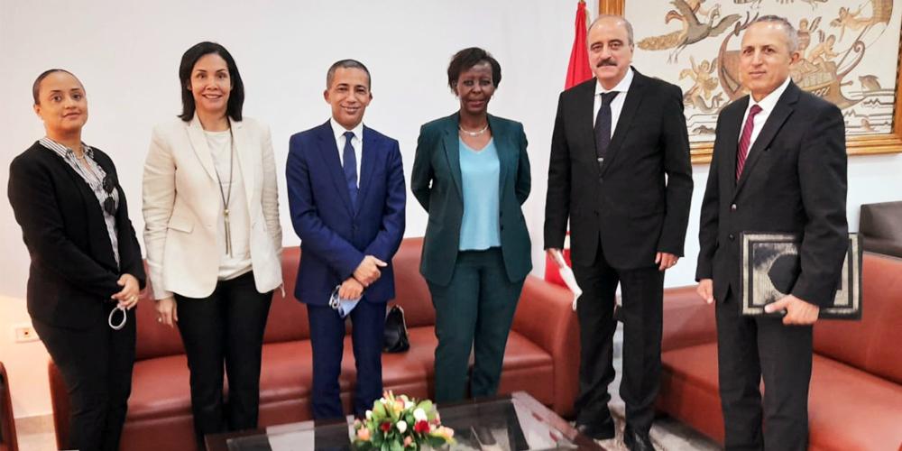 La Secrétaire générale de la Francophonie visite la Tunisie