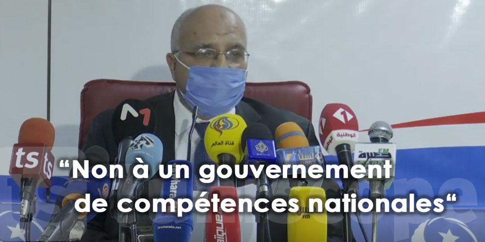 """""""Non à un gouvernement de compétences nationales"""""""